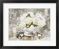 Framed Sitting Room Roses