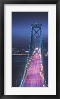 Framed Oakland Bridge 1 Color