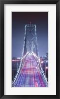 Framed Oakland Bridge 3 Color