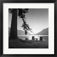 Framed Crescent Lake 1