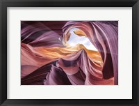 Framed Antelope Canyon 2 Color