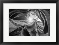 Framed Antelope Canyon 2 Light