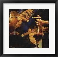 Framed Party Cigar