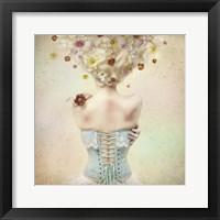 Framed Girl of the Flower Garden