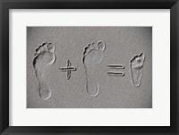 Framed Sand Arithmetic