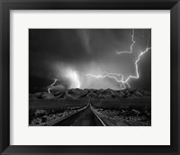 Framed On the Road With the Thunder Gods