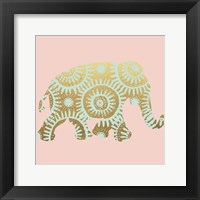 Framed Elephant 3