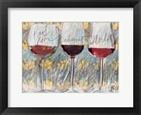 Framed Wine 3