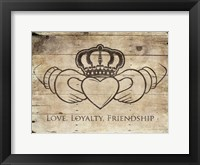 Framed Love Loyalty Friendship