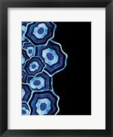 Framed Other Half Of Blue Agates