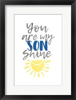 Framed Son Shine