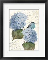 Framed Bird Mail Two
