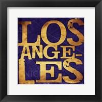 Framed Los Angeles