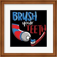 Framed Brush Your Teeth