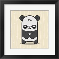 Framed Cute Panda