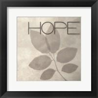 Framed Hope Silhouette