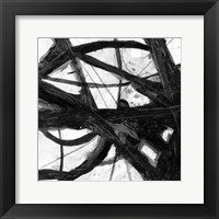 Framed Abstract Jungle 1