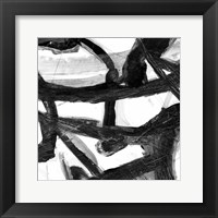 Framed Abstract Jungle 2