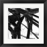 Framed Abstract Jungle 3