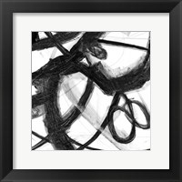 Framed Abstract Jungle 4