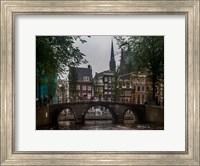Framed Amsterdam Bridge