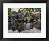 Framed Amsterdam Reflections