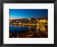 Framed Portugal Porto Bridge