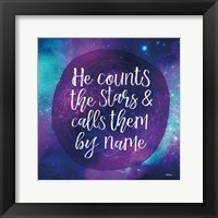 Framed Counting Stars
