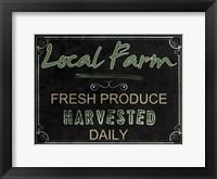 Framed Local Farm