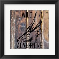 Framed Wild Adventure