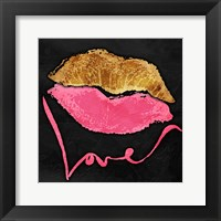 Framed Love Lips