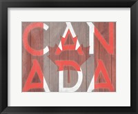 Framed Canadian Pride