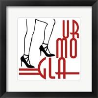 Framed Glamour Strut