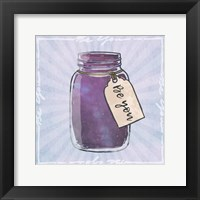 Jar Of Self Framed Print