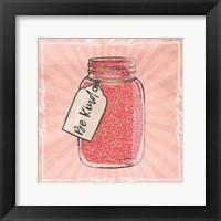 Jar Of Kindness Framed Print