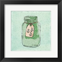 Jar Of Bravery Framed Print