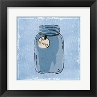 Jar Of Strength Framed Print