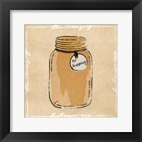 Jar Of Amaze Framed Print