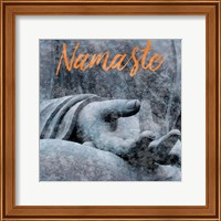 Framed Zenful Namaste