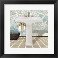 Framed Coral Sink 1A