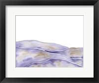 Framed Lavender Seas 1