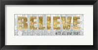 Framed Believe With All