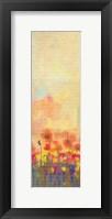 Framed Poppies B