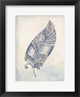Framed Feather Henna 2