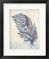 Framed Feather Henna 1