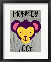 Framed Monkey Loop