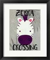 Framed Zebra Crossing
