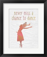 Dance B Framed Print