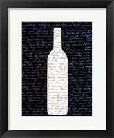 Framed Wine on Black 2