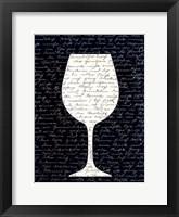 Framed Wine on Black 3